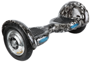 10 Inch Super Offroad Hoverboard - Black Skull Design